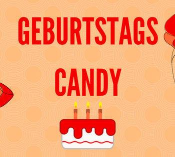Geburtstags Candy 20107
