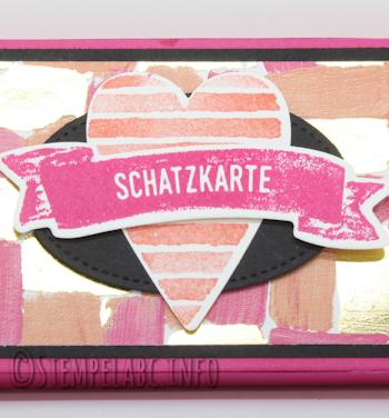 Schatz-Karten Verpackung vom Workshop