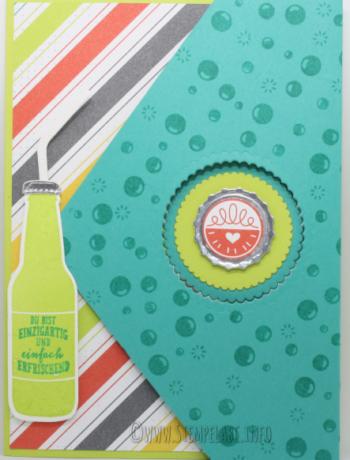 Peek a Boo Flap Card mit Anleitung