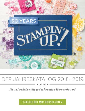 Stampin´UP! Jahreskatalog 2018-2019