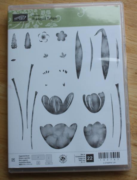 Flohmarkt Stempel Klarsicht Tranquil Tulips