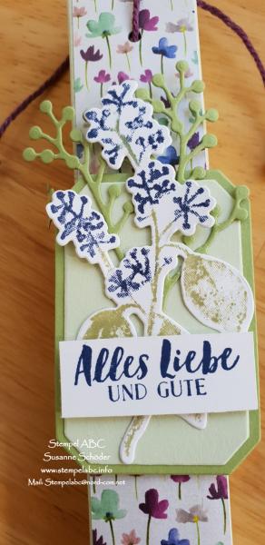 Eisblüten Karten und Schokoladenfahrstuhl