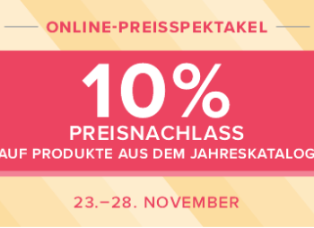 Das Online-Preisspektakel ab 23.11.2018