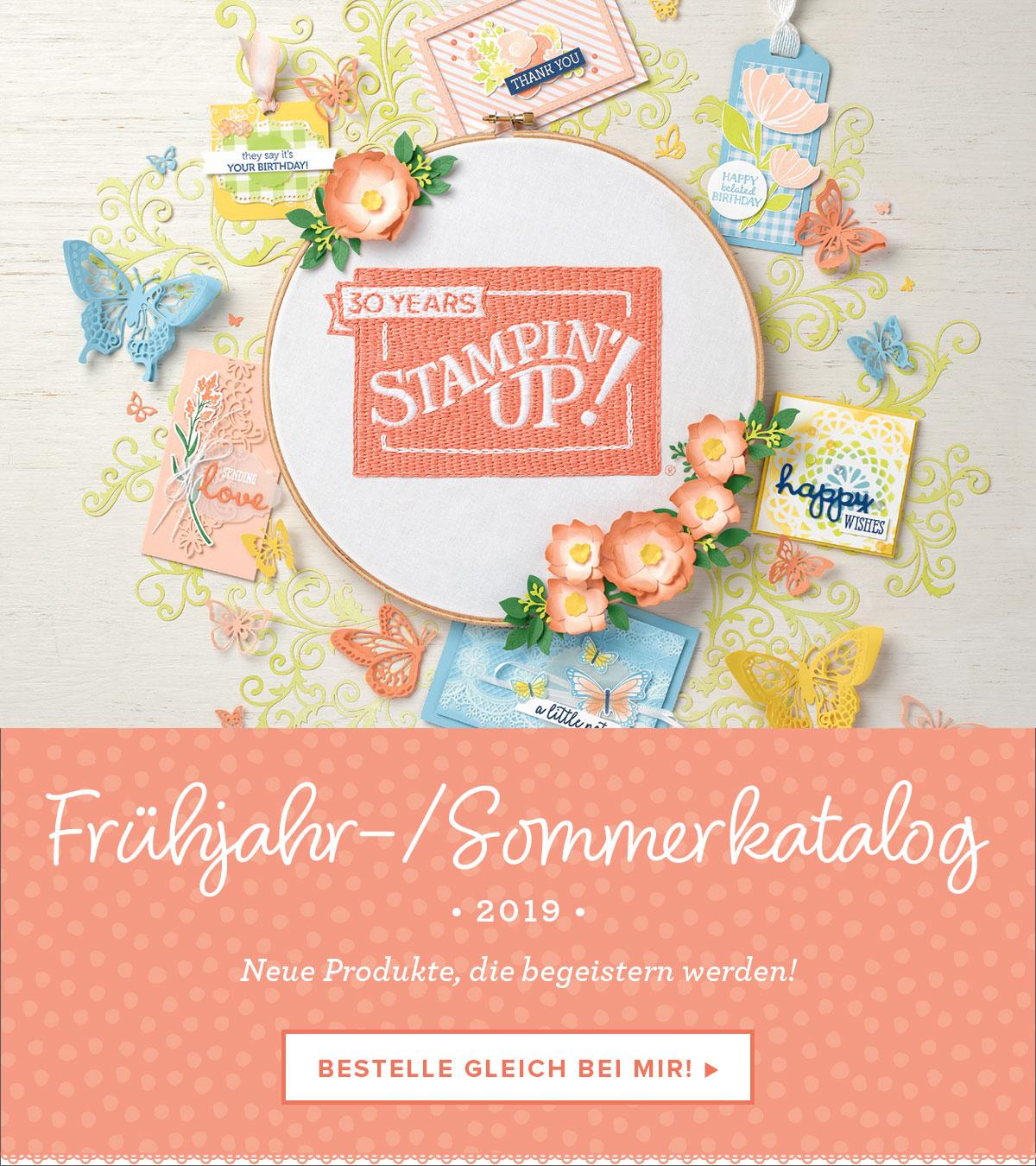 Stampin´UP! Frühjahr-/Sommerkatalog 2019