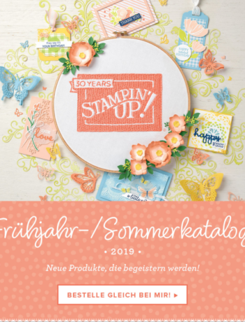 Start Frühjahr/Sommerkatalog und der Sale-a-Bration