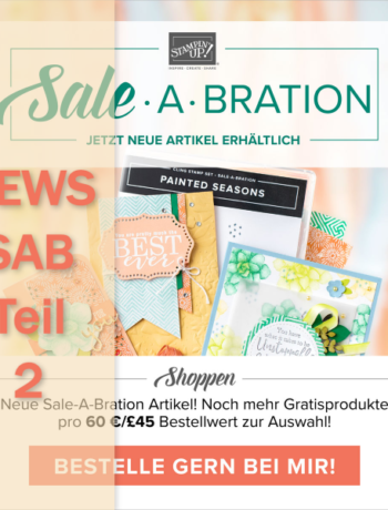 News Sale-a-Bration Teil 2