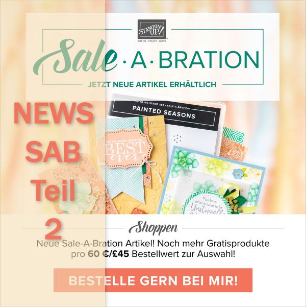 News Sale-a-Bration Teil 2