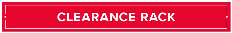 Ausverkaufsecke/Clearance Rack wurde aufgefüllt