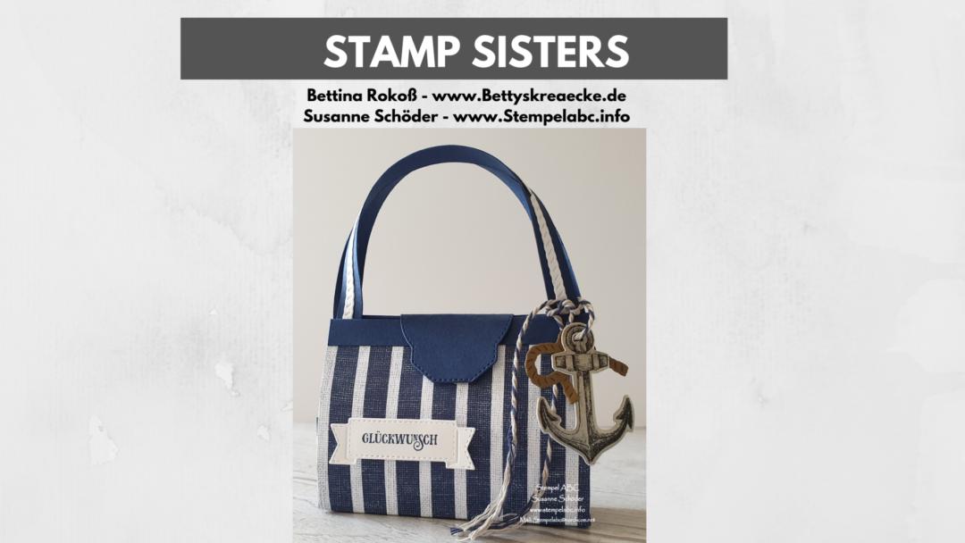 Stamp Sisters Setz die Segel Urlaubstasche