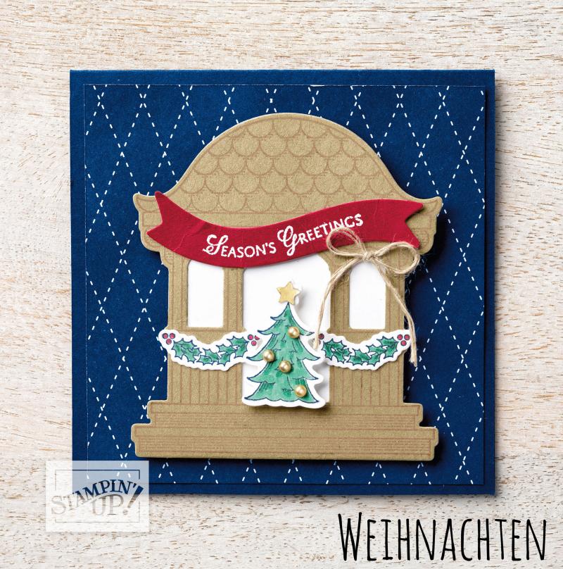 Abc Weihnachtskarten.Stampin Up Weihnachten Stempel Abc