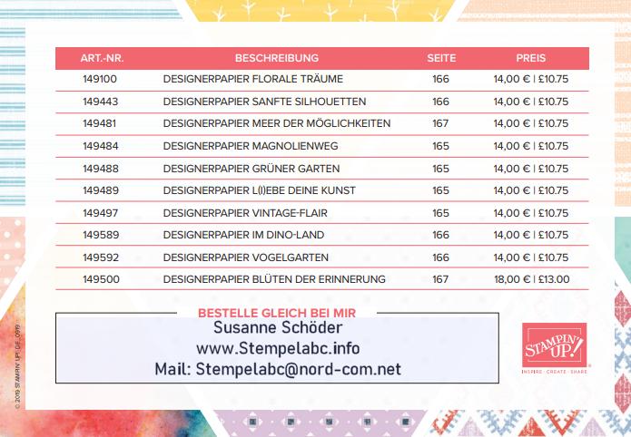 Ab 04.09.2019 Designerpapier 3 Kaufen 1 Gratis