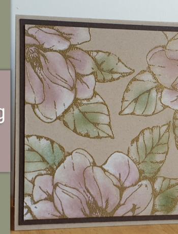 Magnolienweg mal anders koloriert - Video Anleitung