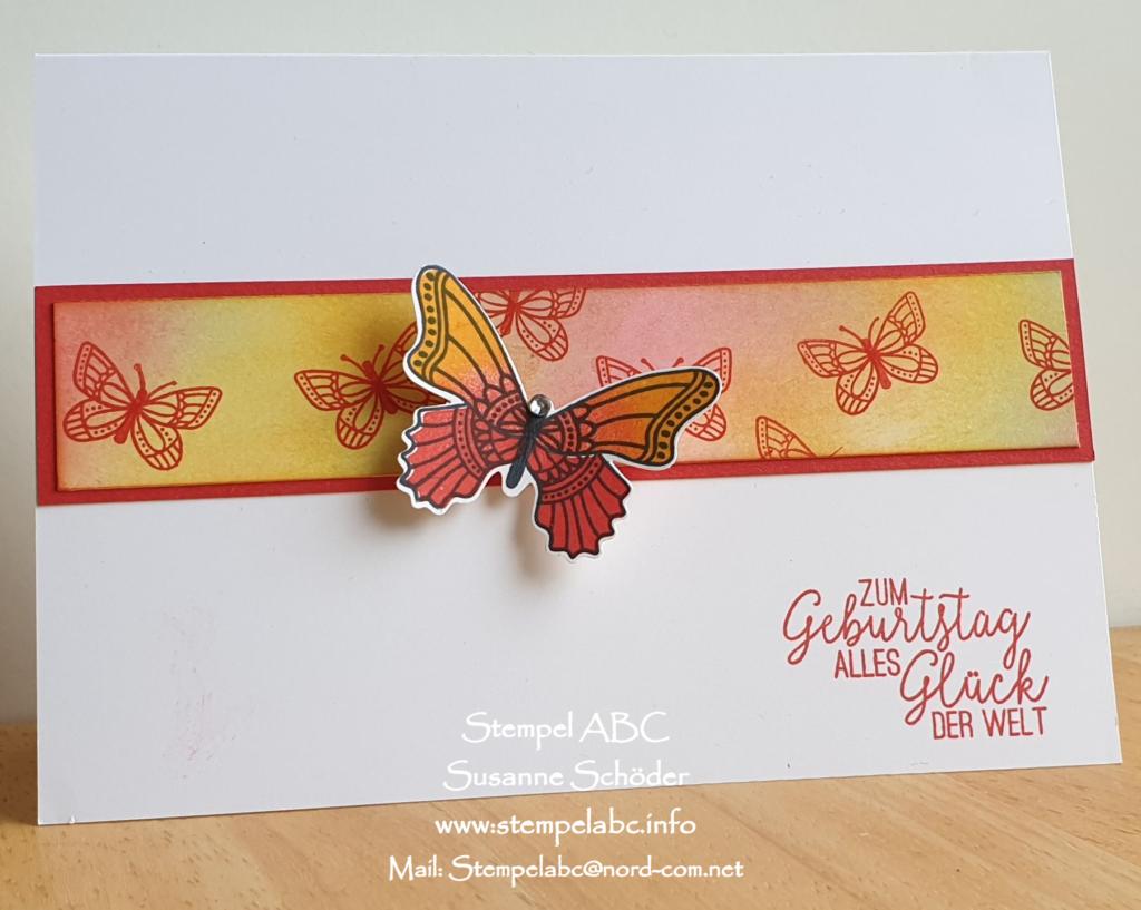 Stamp Sisters - Schmetterlingsglück