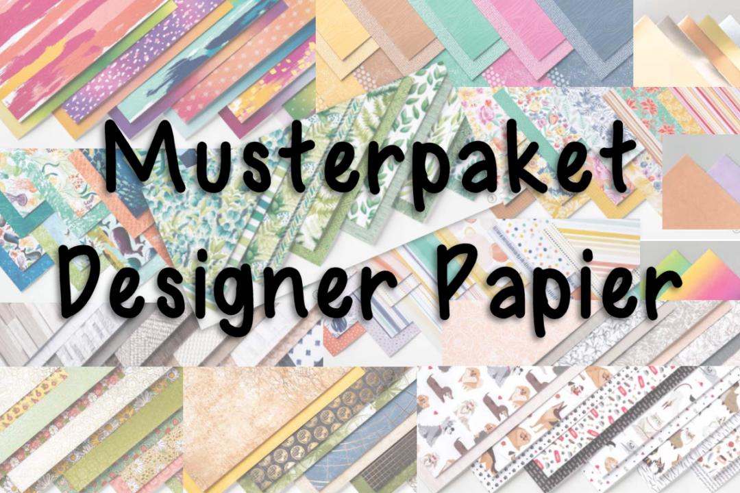 Designerpapier Musterpakete