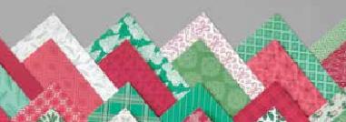 Designerpapier + Farbkarton Weihnachten