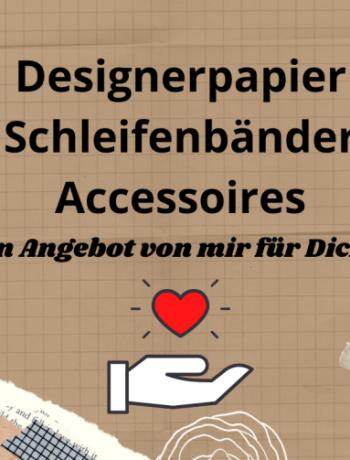 Designerpapier Aktion Minikatalog 2021