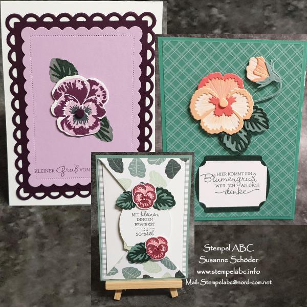 Produktreihe - Stiefmütterchen - Stamp Sisters